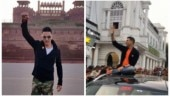 Akshay Kumar in Delhi for Kesari promotions: Fans can't keep calm. Watch video