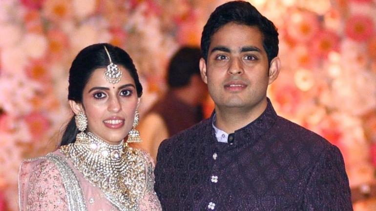 Akash Ambani and Shloka Mehta's wedding preparations are in full swing Photo: Instagram/akustoletheshlo