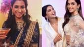 Anisha Padukone rolls eyes at Deepika Padukone's wax statue: Double trouble