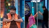 The Kapil Sharma Show: Bharti Singh and Kartik Aaryan's hilarious pole dance will leave you in splits