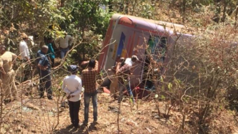 Maharashtra: Six killed, many hurt as bus falls into gorge in