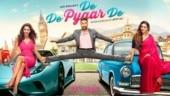 Rakul Preet tries to recreate De De Pyaar De co-star Ajay Devgn's iconic split but fails