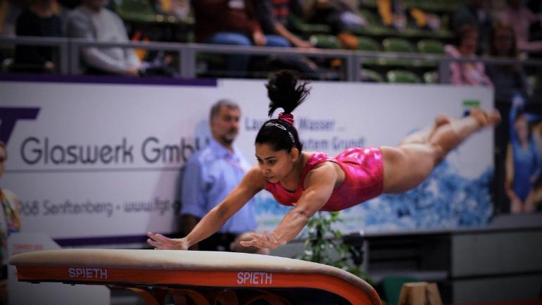 Dipa Karmakar, Gymnastics