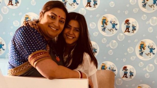 Ekta Kapoor shares a heartfelt note for soul sister Smriti Irani on her birthday