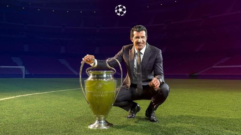 Luis Figo to bring UEFA Champions League trophy to India on Friday