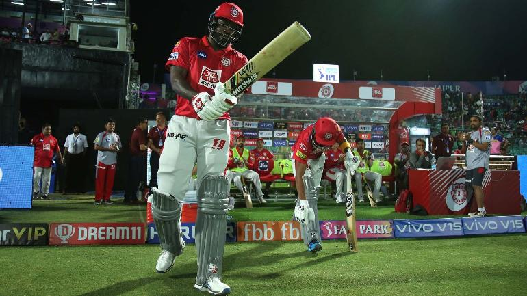 Chris Gayle also holds the record for the highest individual score in the IPL (BCCI Photo)