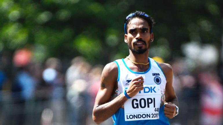 Gopi Thonakal ran his personal best timing to qualify for World Athletics Championships Doha