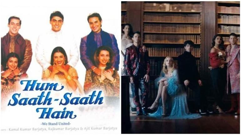 Priyanka Chopra shares Hum Saath Saath Hain meme of Nick Jonas