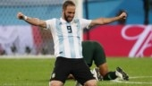 Argentina striker Gonzalo Higuain retires from international football