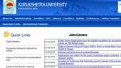 Apply online for 198 Clerk vacancies in Kurukshetra University Recruitment 2019: Check full details here
