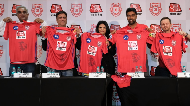 AajTak is the title sponsor of Kings XI Punjab for IPL 2019