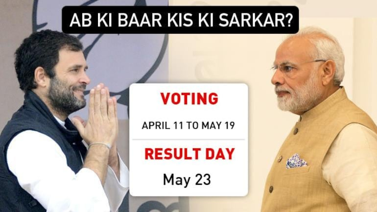 Lok Sabha election dates: Voting from April 11 to May 19, result on May 23