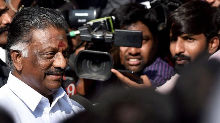 Deputy CM O Pannerselvam strongly defended the candidature of his son amidst charges of promoting dynasty politics. (Photo: PTI)