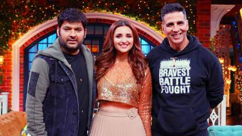 The Kapil Sharma Show: Akshay Kumar and Kapil promise to do