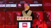 My govt is also sabse tez, PM Narendra Modi tells Aaj Tak