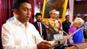 New BJP-led govt in Goa to face floor test today; CM Pramod Sawant confident of victory
