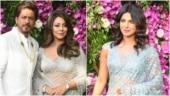 Priyanka Chopra and Shah Rukh Khan's wife Gauri are saree sisters for Akash Ambani wedding