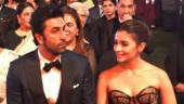 Ranbir Kapoor kisses Alia Bhatt before receiving Best Actor award. See adorable video
