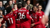 Premier League: Mane scores again as Liverpool beat Fulham to go top of the table