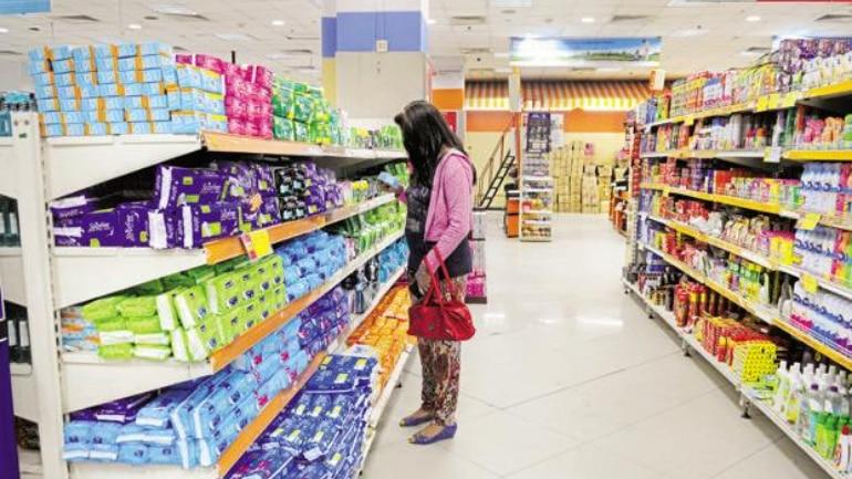 Plastic containing sanitary pads causing uterine cancer