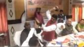 Shoe shoe main main: BJP MP thrashes BJP MLA in Uttar Pradesh as cops look on
