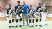 Asian Airgun Championship: Indian shooters continue their dominance, make clean sweep of gold medals