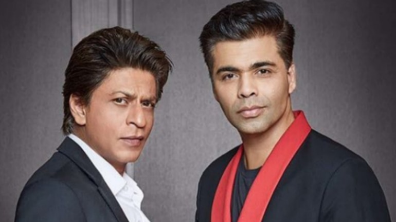 SRK comes out in support of Karan Johar, blames the director's 'fat fingers'