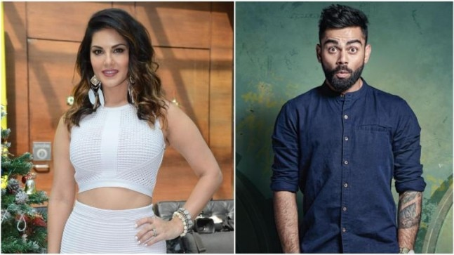Is That Virat Kohli With Sunny Leone At The Airport Watch -8308