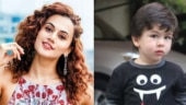 Taapsee Pannu wants to take Taimur Ali Khan out on a date