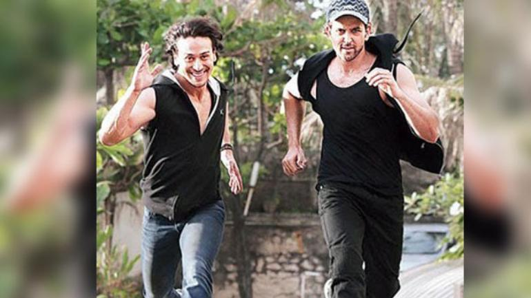 Tiger Shroff Dances To His Favourite Hrithik Roshan Song