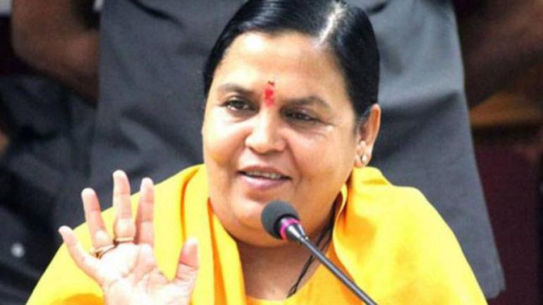 Uma Bharti won't contest Lok Sabha polls, BJP makes her national