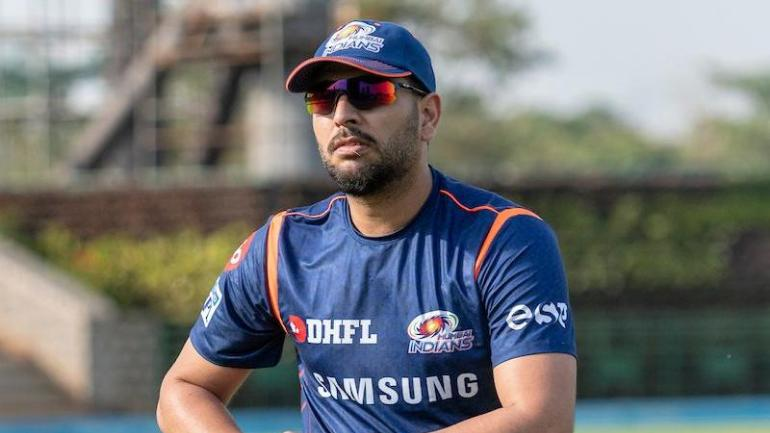 Yuvraj Singh joined Mumbai Indians at the preparatory camp ahead of IPL 2019