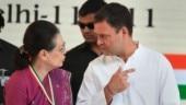 Sonia Gandhi upset with Rahul Gandhi's photo on Congress manifesto?