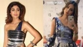 Hina Khan copies Shilpa Shetty's statement saree. Gets blasted for fake fashion again