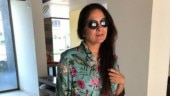 Neena Gupta is a gorgeous flower girl in this floral ensemble. See pic