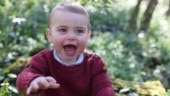 Kate Middleton and Prince William release unseen pics of Prince Louis on first birthday