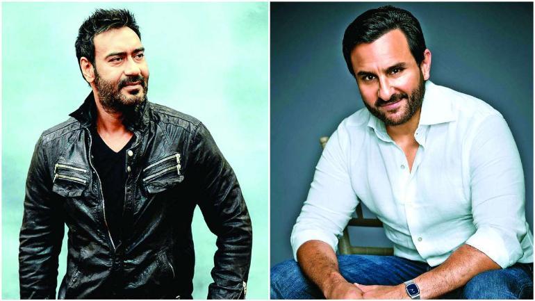 Saif Ali Khan reacts to Ajay Devgn's De De Pyaar De dialogue