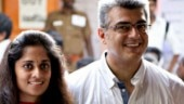 Ajith and Shalini skip the queue at poll booth. Two women blast them. Watch viral video