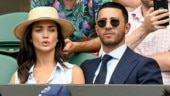 Pregnant Amy Jackson chills with boyfriend George Panayiotou in Dubai. See photos and videos