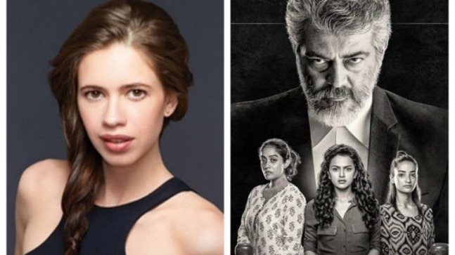 Kalki Koechlin to make Tamil debut with Ajith's Pink remake Nerkonda Paarvai?