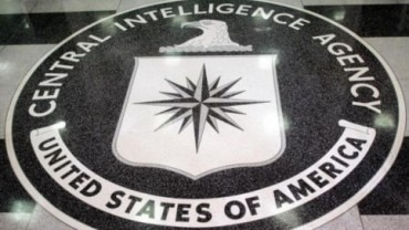 The logo of the US Central Intelligence Agency is shown in the lobby of the CIA headquarters in Langley, Virginia. (Photo: Reuters)