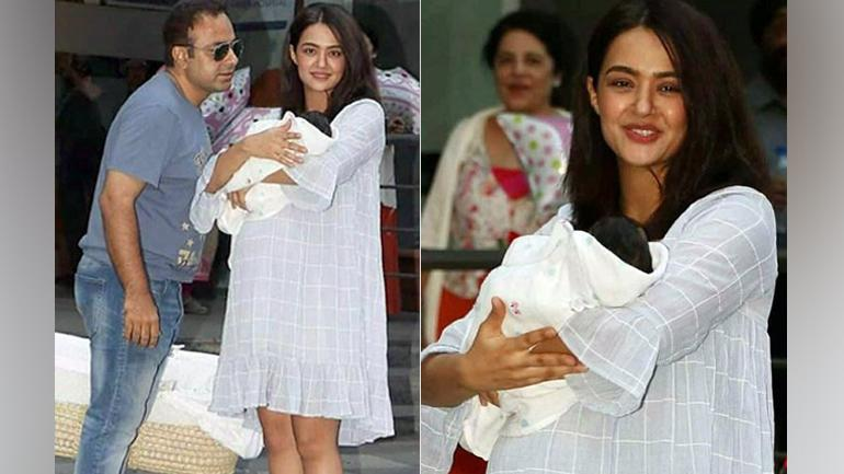 Image result for surveen chawala baby pic