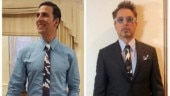 Akshay Kumar recently took to Instagram to post a picture of him wearing a same tie as Robert Downey Jr