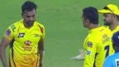 Watch: MS Dhoni loses cool after Deepak Chahar bowls back-to-back no-balls