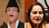 NCW chief takes note of Azam Khan's khaki underwear remark against Jaya Prada