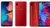 Redmi Note 7 vs Galaxy A20: The best phone for Rs 12,000?