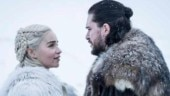 Game of Thrones 8 behind the scenes: Kit Harington pretends to gag after kissing Emilia Clarke