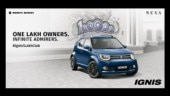 Maruti Suzuki Ignis 1 lakh units sold since launch in January 2017
