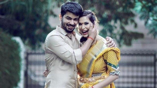 Bigg Boss Mahat Raghavendra gets engaged to girlfriend Prachi Mishra in Chennai. See pic