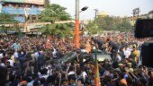 From ghar ghar to Har Har: Modi's massive Varanasi roadshow turns holy city saffron